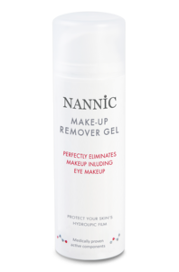 Make-up remover gel