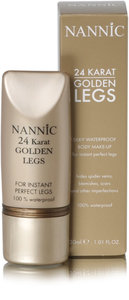 Golden legs natural beige, tube 30ml